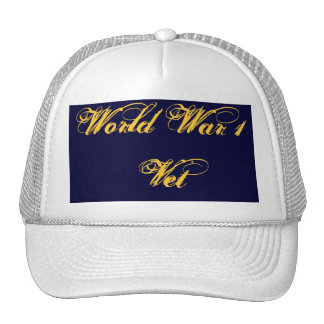 Memorial Day World War 1 VetTrucker s Hat