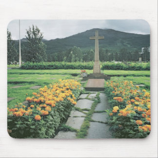Memorial French soldiers who died Battles Mouse Mat