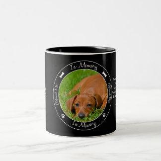 Memorial - Loss of Dog - Custom Photo/Name Mug