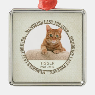 Memorial - Loss of Pet - Custom Photo/Name Christmas Ornament
