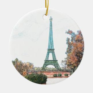 Memorial Park, Paris TN Christmas Ornament