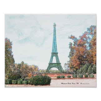 """Memorial Park"" Paris,TN Poster"