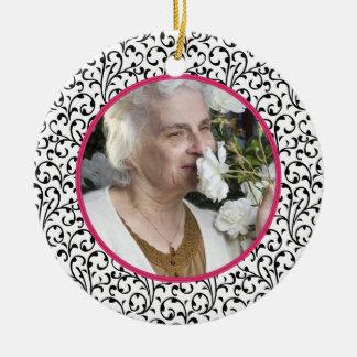 Memorial Photo Christmas Ornament