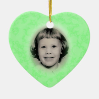 Memorial Photo Ornament Customizable