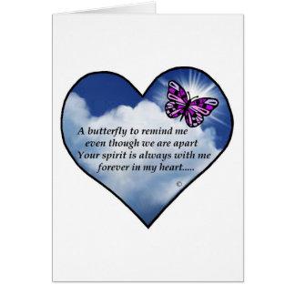 Memorial Poem Greeting Card