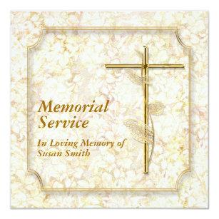 in loving memory invitations announcements zazzle uk