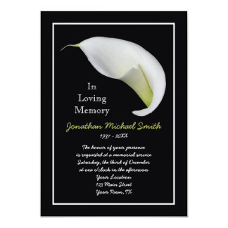 Funeral Invitations Announcements Zazzlecouk