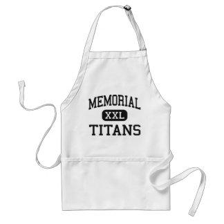 Memorial - Titans - High - Port Arthur Texas Adult Apron