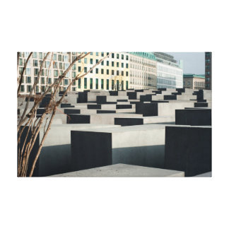 Memorial to the Murdered Jews Canvas Prints