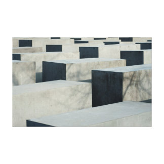 Memorial To The Murdered Jews Of Europe Canvas Prints