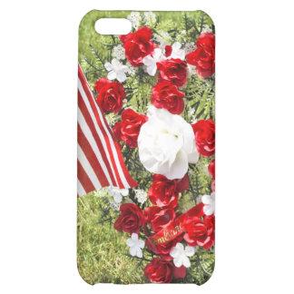 Memorial / Veterans Day Tribute iPhone 5C Case
