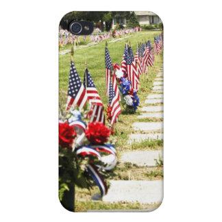 Memorial / Veterans Day Tribute iPhone 4 Covers