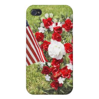 Memorial / Veterans Day Tribute iPhone 4 Case