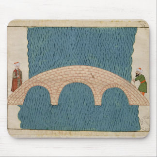 Memorie Turchesche' depicting the Galata Bridge Mouse Pad