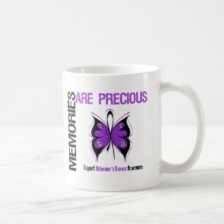 Memories Are Precious Alzheimer's Disease Basic White Mug