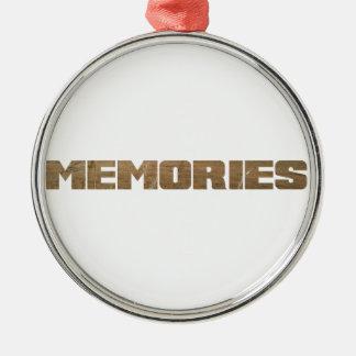 Memories... Christmas Ornament