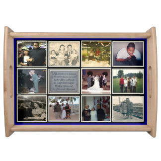 Memories Made Never Forgotten Large Serving Trays
