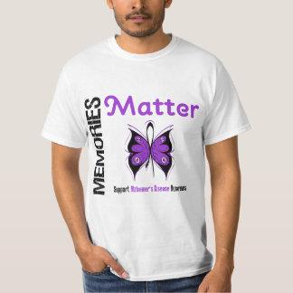 Memories Matter Alzheimer's Disease Shirt