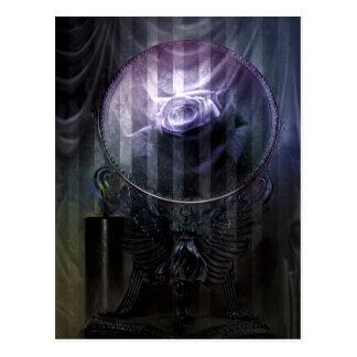 Memories Never Fade Goth Fantasy Signed Mini Print Postcard