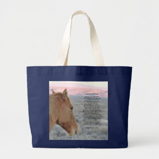 Memories of a Wild Land Large Tote Bag