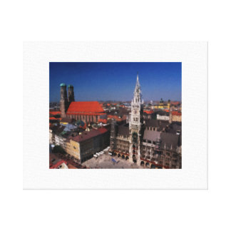 Memories of Germany Canvas Print