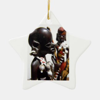 Memories of Kenya Ceramic Star Decoration