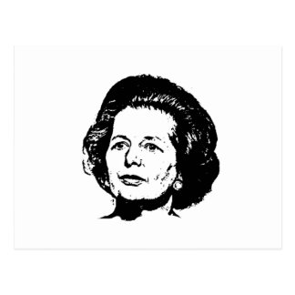 Memories of Margaret Thatcher Postcard