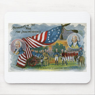 Memories of the War for Independence Mouse Mat