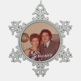 Memories Photo Holiday Ornament