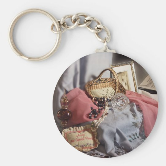 Memories - Special Old Things Basic Round Button Key Ring