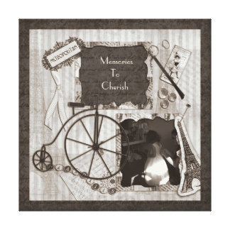 Memories To Cherish Stretched Canvas Print