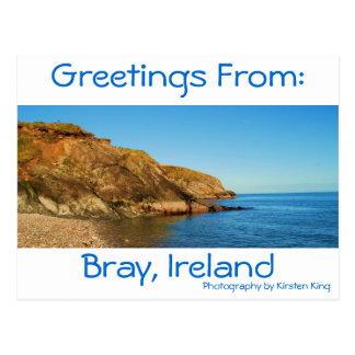 memory 1 187, Bray, Ireland, Greetings From:, P... Postcard