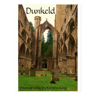 memory 2 051, Dunkeld, Photography by Kirsten King Postcard