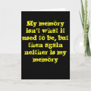 Memory Belated Birthday Card