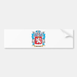 Memory Coat of Arms - Family Crest Bumper Stickers
