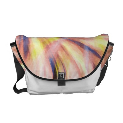 Memory in the World of Simulation Messenger Bag Courier Bag