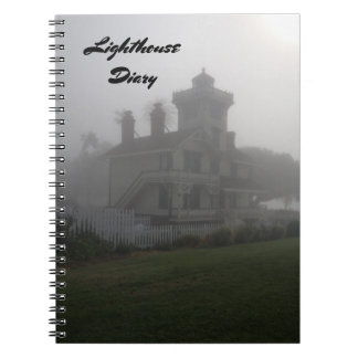 Memory Journal Book Travel Lighthouse Diary Note