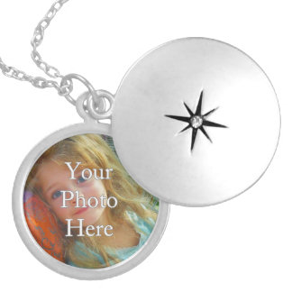 Memory Keeper Personalized Photo Locket Necklace