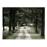 Memory lane postcard