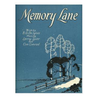 memory lane post cards