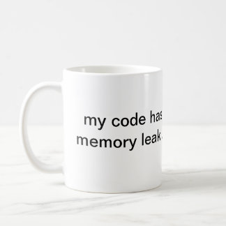 memory leak - mug