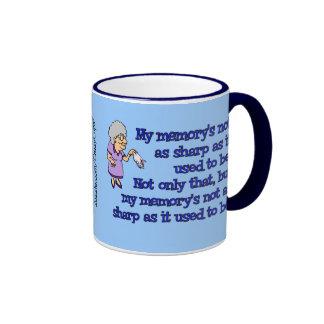 Memory Loss Female Ringer Mug