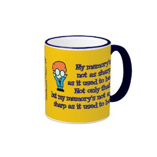 Memory Loss Geek Ringer Mug