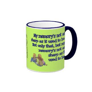 Memory Loss Ringer Mug