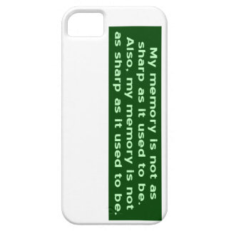 Memory Not Sharp iPhone 5 Cover