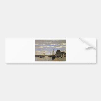 Memory of Haarlem by Johan Hendrik Weissenbruch Bumper Sticker