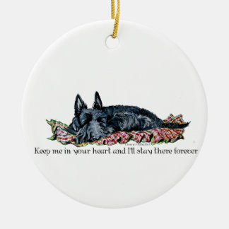 Memory of Scottish Terrier Christmas Ornament