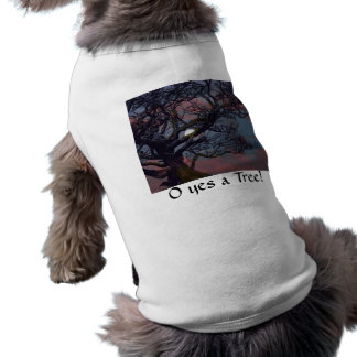 Memory of the Moon Sleeveless Dog Shirt