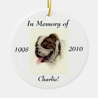 Memory Ornament for your Pet