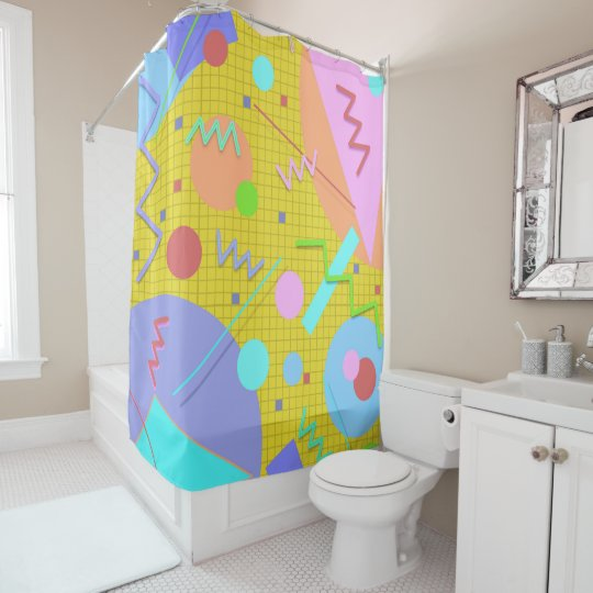 Memphis #43 shower curtain